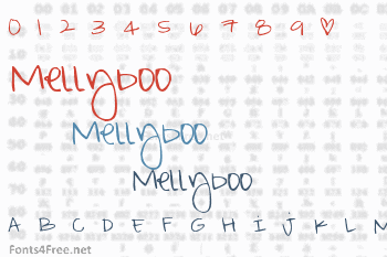 Mellyboo Font