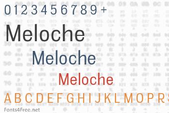 Meloche Font