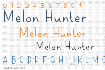 Melon Hunter Font
