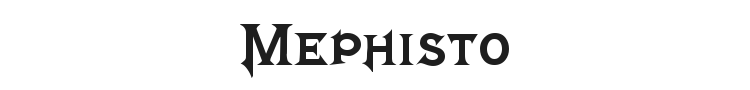 Mephisto Font