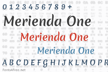 Merienda One Font