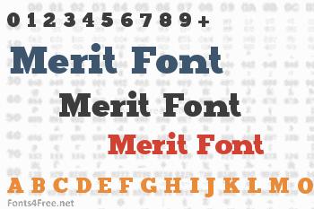 Merit Font