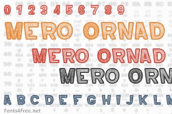 Mero Ornad Font