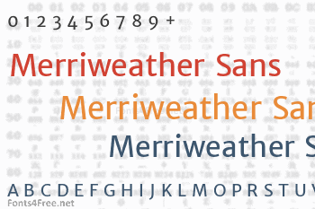 Merriweather Sans Font