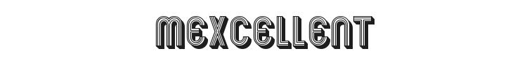 Mexcellent Font Preview