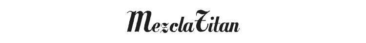 MezclaTitan Font Preview