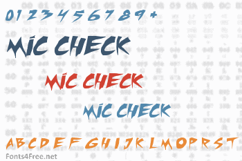 Mic Check Font