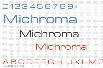 Michroma Font