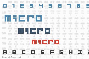 Micro Font