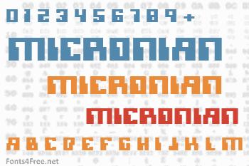 Micronian Font