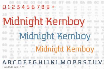 Midnight Kernboy Font
