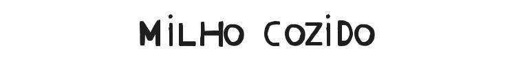 Milho Cozido Font Preview