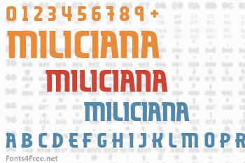 Miliciana Font