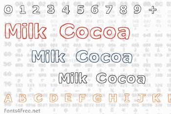 Milk Cocoa Font
