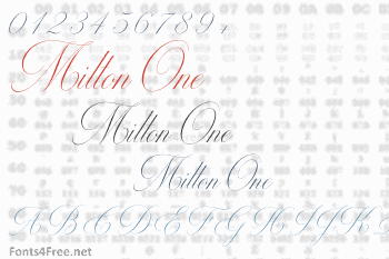 Milton One Font