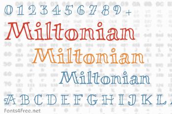 Miltonian Font