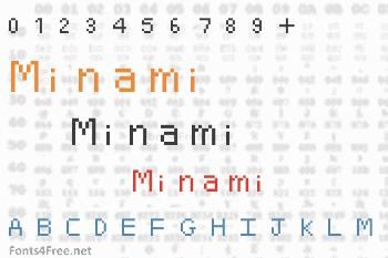 Minami Font