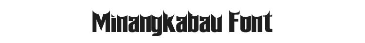 Minangkabau Font Preview