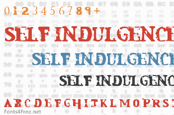 Mindless Self Indulgence Font