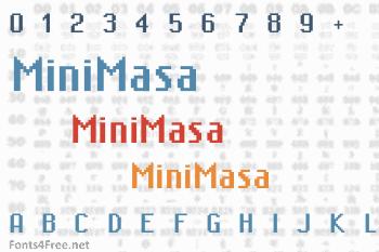 MiniMasa Font