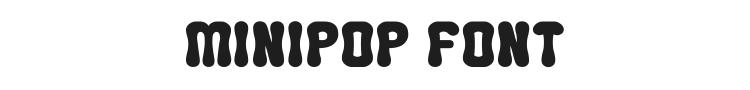 Minipop Font Preview