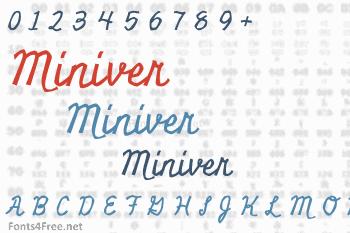 Miniver Font