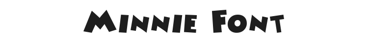 Minnie Font Preview