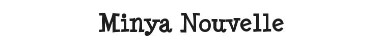 Minya Nouvelle Font Preview