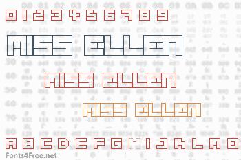 Miss Ellen Font