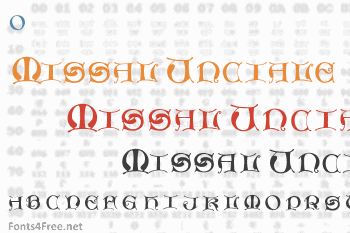 Missal Unciale Font