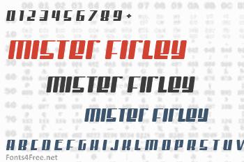 Mister Firley Font