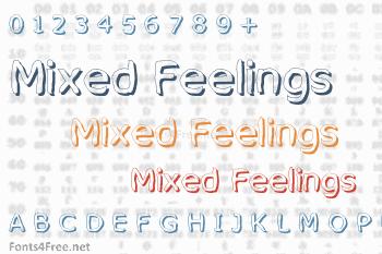 Mixed Feelings Font
