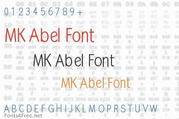 MK Abel Font
