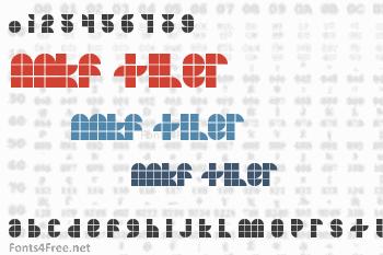 MKF Tiler Font