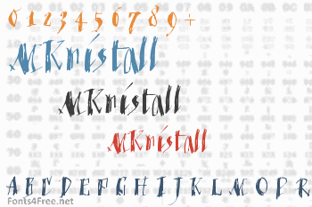MKristall Font
