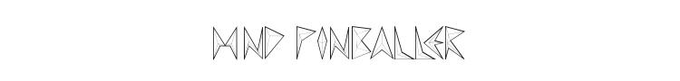 MND Pinballer Font Preview