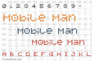 Mobile Man Font