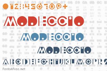 Modeccio Font