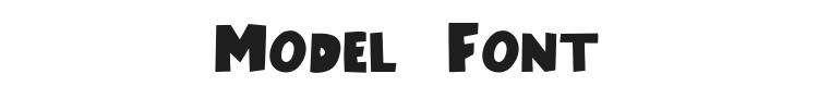 Model Font