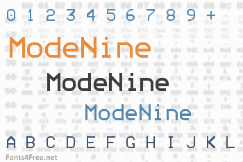 ModeNine Font