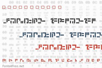 Modern Iaconic Font