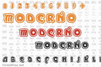 Moderno Font