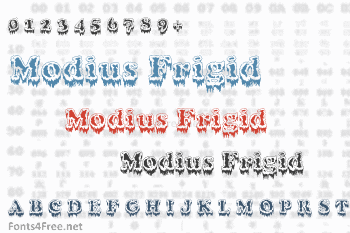 Modius Frigid Font