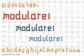 Modulare 1 Font
