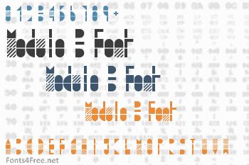 Modulo 3 Font