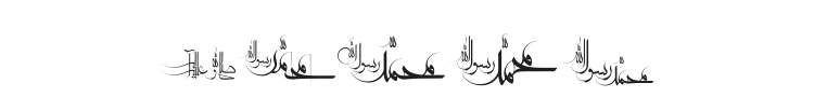 Mohammad RasoolAllah Font Preview