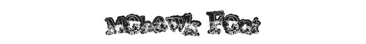 Mohawk Font Preview