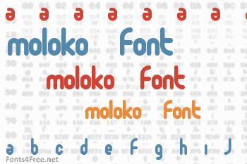 Moloko Font