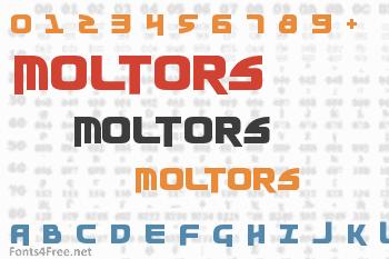 Moltors Font