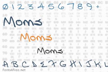 Moms Font